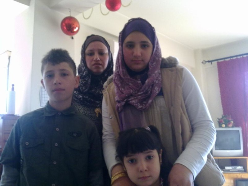 Members of the Milhim family who are among those feared lost at sea. Picture source:  Electronic Intifada
