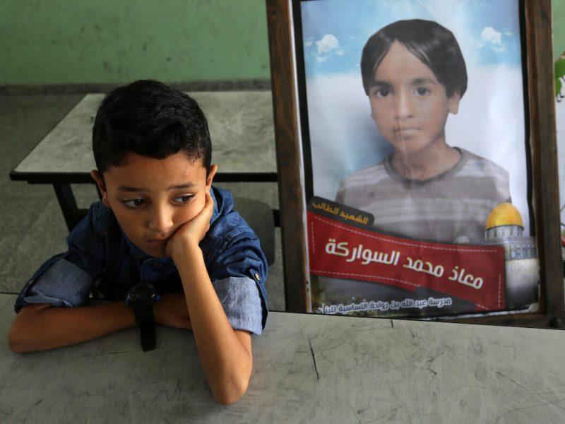 Overview November 2019   Israel kills children to defend itself