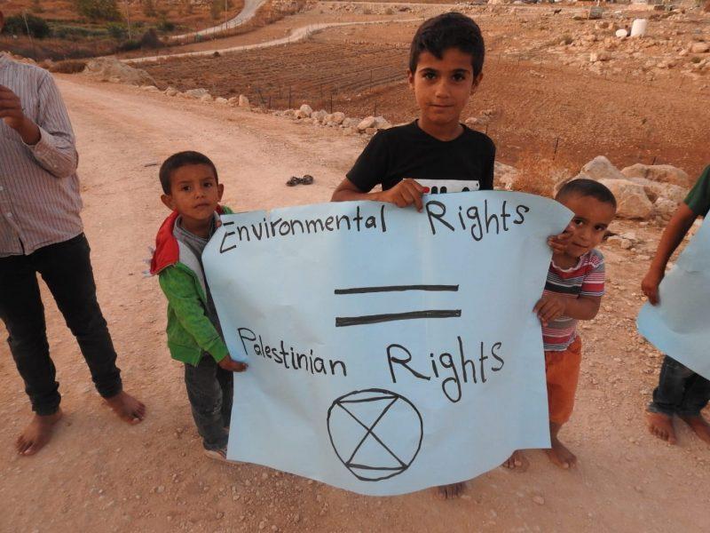 Overzicht september 2020    Klimaatverandering in bezet Palestina